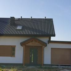 Dom szkieletowy Nowe Bojszowy k. Tychów