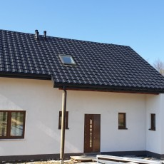 Dom szkieletowy Wysoka k. Wadowic